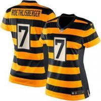 Quality Nike Ben Roethlisberger Pittsburgh Steelers Women's Gold Game Jersey for sale