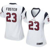 Quality Nike Arian Foster Houston Texans Women's White Game Jersey for sale