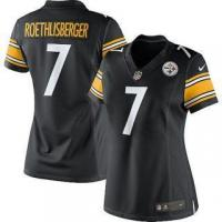 Quality Nike Ben Roethlisberger Pittsburgh Steelers Women's Black Limited Jersey for sale