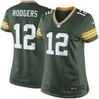 Buy cheap Nike Aaron Rodgers Green Bay Packers Women's Green Limited Jersey from wholesalers