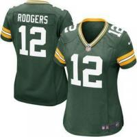 Buy cheap Nike Aaron Rodgers Green Bay Packers Women's Green Game Jersey from wholesalers