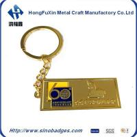 Quality Stamping Keyrings by Soft Enamel Brass or Zinc Alloy Keyrings with Cartoon Person 3D Minature for sale