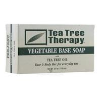 China Tea Tree Therapy Vegetable Base Soap with Tea Tree Oil 3.90Oz (110 g) on sale