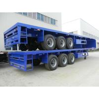 Buy cheap 60 tons low bed semi trailer from wholesalers