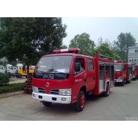 Buy cheap Dongfeng 3000L water fire truck from wholesalers