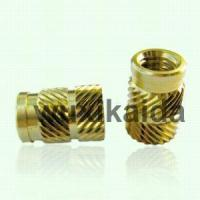 China Brass insert nut on sale