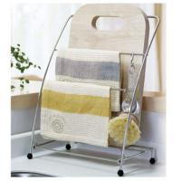 Quality Foldable Kitchen Rack Chopping Board And Cleaning Cloth Rack for sale