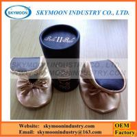 Quality Factory Rollable Soft Ballet Shoes For Wedding Party Gifts for sale