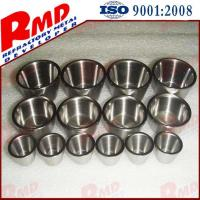 High Melting Point Precision Polished Customized Tungsten Crucibles Part by Drawing