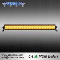 Buy cheap 2016 NEW AURORA 30inch Yellow Light LED Amber Light Bar from wholesalers