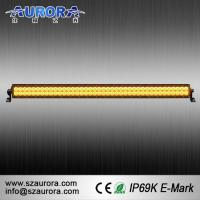 Buy cheap High Quality and Waterproof AURORA 40inch Amber Car Lights LED Fog Light Bar from wholesalers