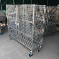 Chrome Security Cage with dolly