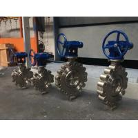 China Wafer/Lug Triple Eccentric Butterfly Valve on sale
