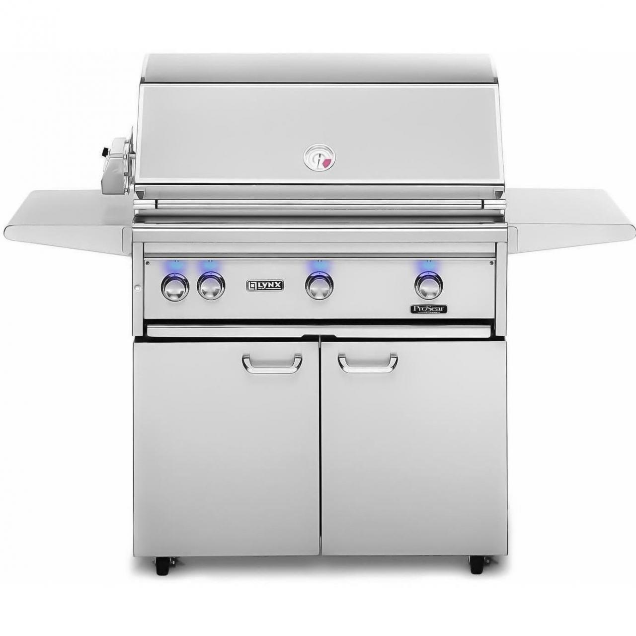 Lynx 36-Inch Gas BBQ Grill - Natural Gas With Infrared ProSear Burner And Rotisserie L36PSFR-2-NG