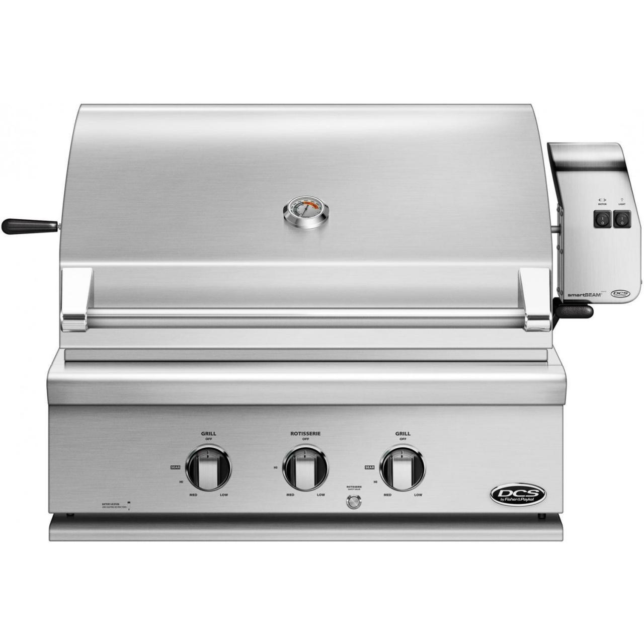 Buy DCS Professional 30-Inch Built-In Natural Gas Grill With Rotisserie - BH1-30R-N at wholesale prices