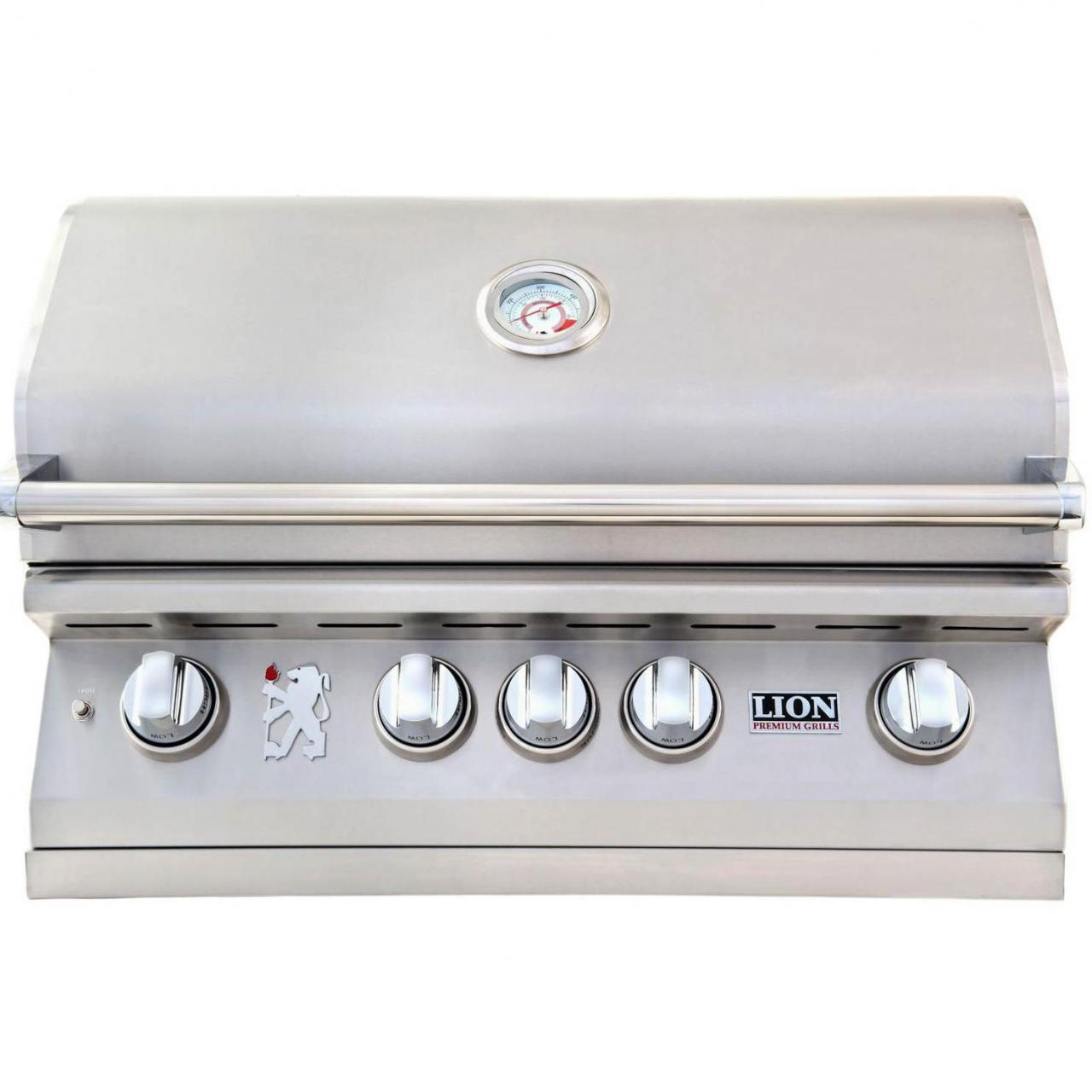 Buy cheap Lion 32-Inch Built-In Gas Grill - L75000 Stainless Steel Natural Gas from wholesalers