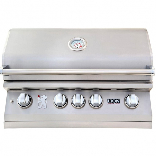 China Lion 32-Inch Built-In Gas Grill - L75000 Stainless Steel Natural Gas