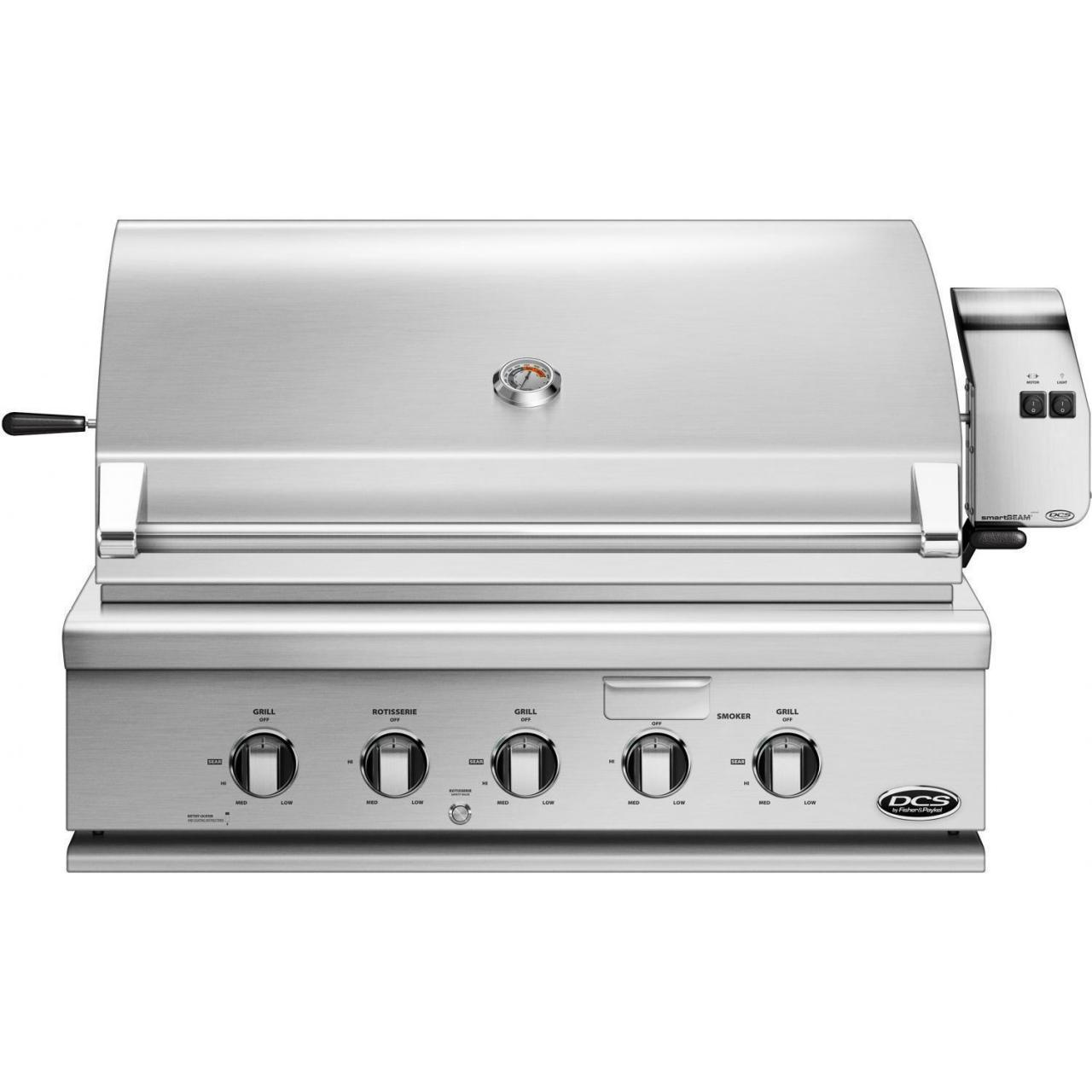 Buy cheap DCS Professional 36-Inch Built-In Natural Gas Grill With Rotisserie - BH1-36R-N from wholesalers
