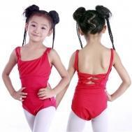 Buy cheap Leotards Child double camisole back-crossed leotard CS0251 from wholesalers