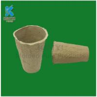 Quality Recycled waste paper pulp flower pot for sale