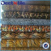 Buy cheap wild African style animal leopard and cheetah texture fabric for the wild style fans from wholesalers