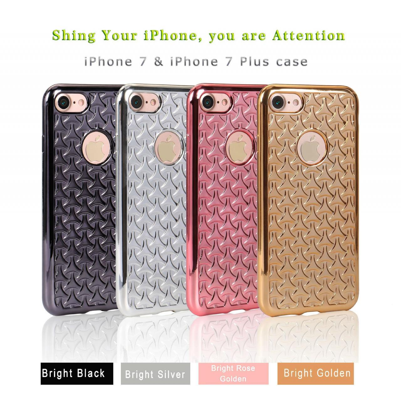 iPhone 7 (7pro) Case/Triangle electroplated iphone 7 case