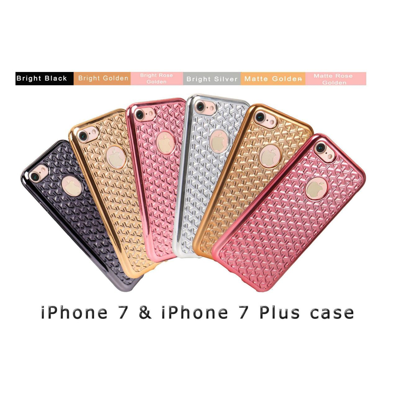 iPhone 7 (7pro) Case/Woven Pattern Electroplated iphone 7 case