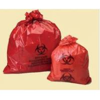 Quality medical waste bag plastic health care biohazard bags with biohazard sign for sale