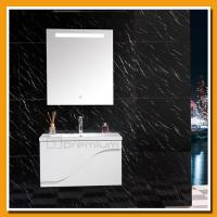 China SP-5300S Artificial stone sink led light bathroom furniture on sale