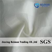 China 16.5mm silk cotton blend fabric check on sale