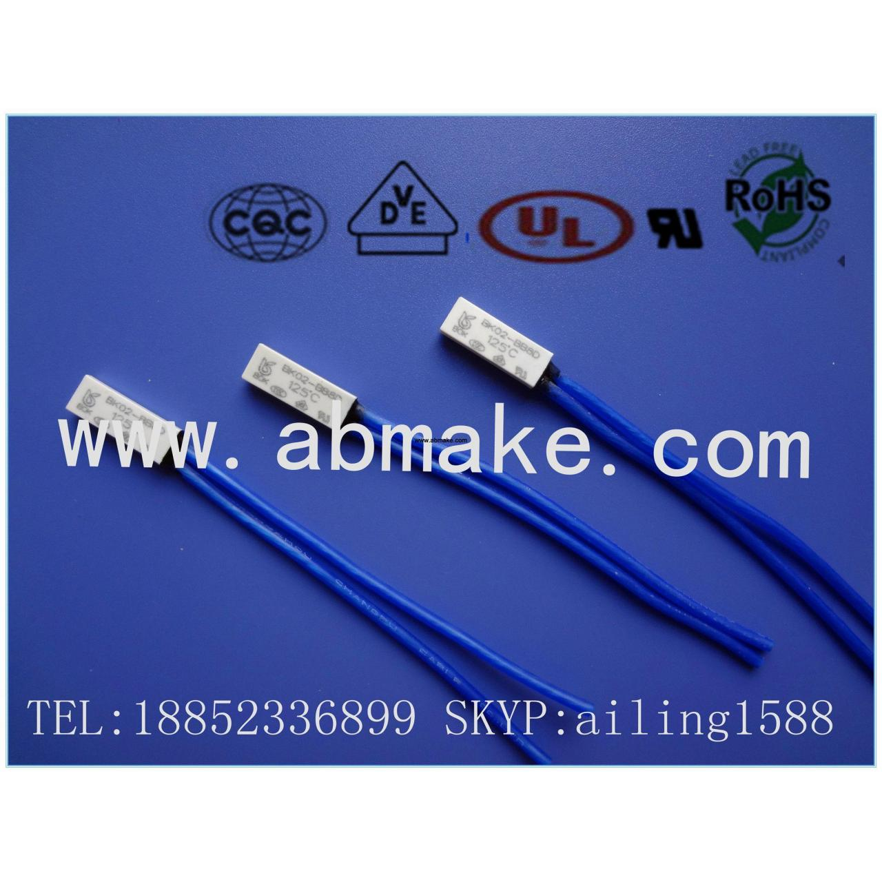Quality 02/2A series thermal protector 02BB8D-2 series for sale