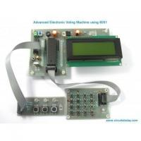 China Electronic Voting Machine Circuit-Project Kit Using 8051 on sale