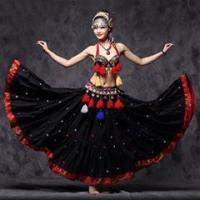 China Professional High Quality Performance Belly Dance Tribal Costume,Belly Dance Set on sale