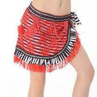 China Fashion Girl Sexy Belly Dance Practice Hip Scarf,Belly Dance Tribal Hip Scarf on sale