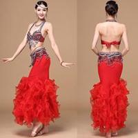 China Lady Glorious Performance Belly Dance Bra Belt Costume,Belly Dance Wear Costume on sale