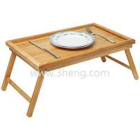 Quality Luxurious Breakfast in Bed Bamboo Lap Tray/ Kids Floor Table With Folding Legs for sale
