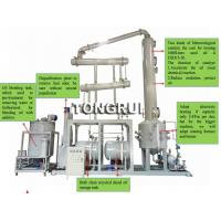 Quality Environment 90% high yield Used Oil Pyrolysis Distillation into Diesel oil recycling equipment for sale