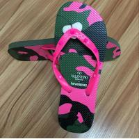 Quality High quality natural rubber Flip flop with rubber strap for sale