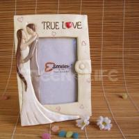 Quality GLP11667 Polyresin wedding recordable photo frame for sale