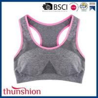 China Fashionable Sexy Seamless Sport Bra for Ladies on sale