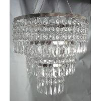 China 3 TIERED CRYSTAL ACRYLIC CHANDELIER on sale