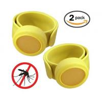 Buy cheap DEET free Silicone Mosquito Repellent Slap Band from wholesalers