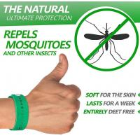 Buy cheap DEET free Silicone Mosquito Repellent Bracelet from wholesalers