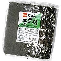 China Roasted Seaweed for Rolls - Full Size 100 sheets/bag