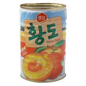China Canned Foods Canned Yellow Peach