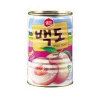 Quality Canned Foods Canned White Peach for sale