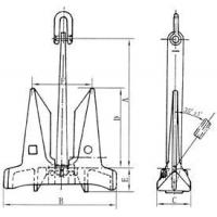 Quality AC 14 STOCKLESS ANCHOR for sale