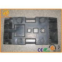 Quality Heavy Duty Black Rubber Sign Pedestal Base with 28 kg Weight 800 x 400 x 120 mm for sale