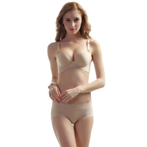 Buy Sexy seamless fancy bra and panty set at wholesale prices