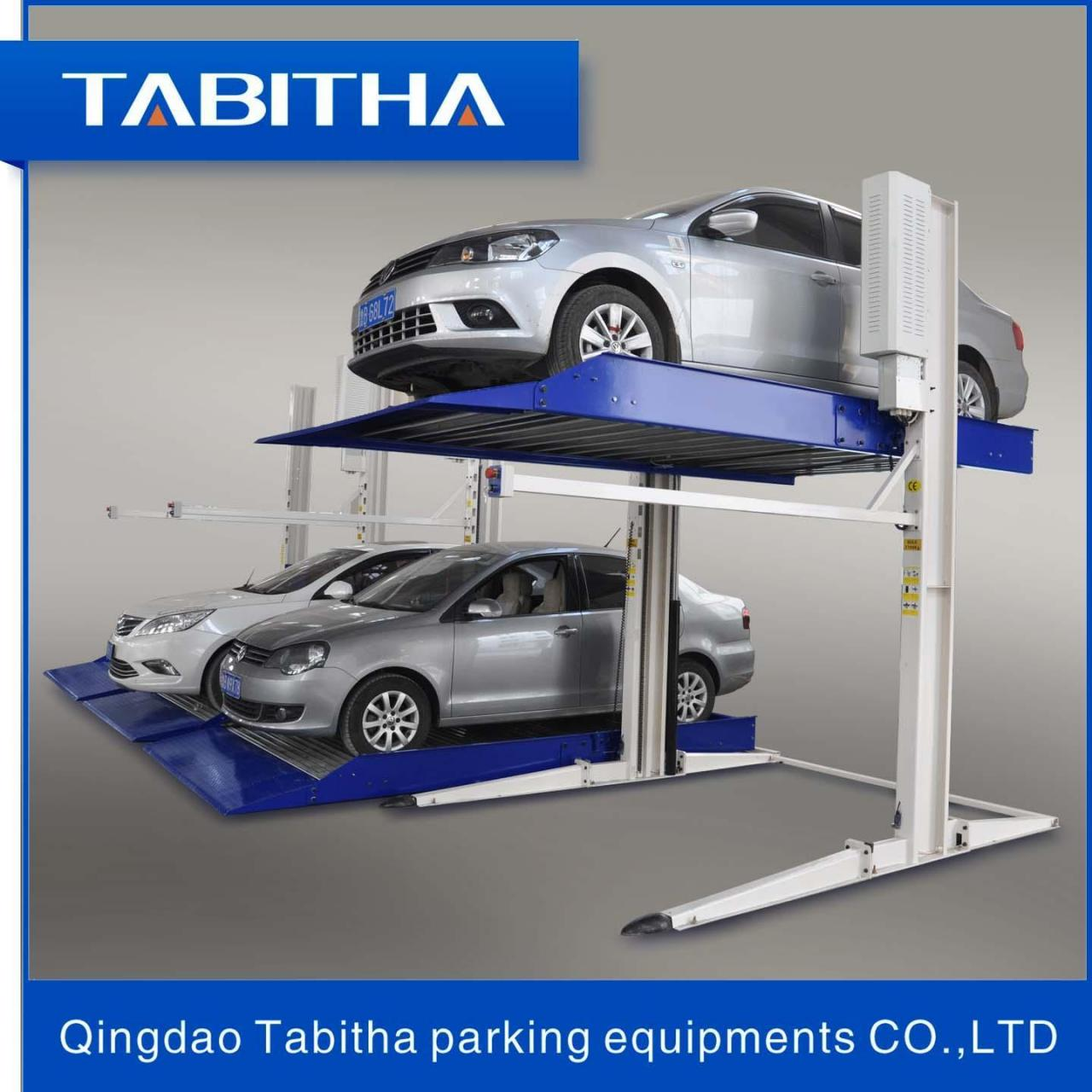 Buy cheap Puzzle parking System TTPP606 Safe Two Post Auto-parking Lift Luxury from wholesalers